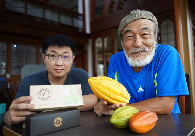 從種樹到研發一手包辦 創出台灣首家巧克力品牌