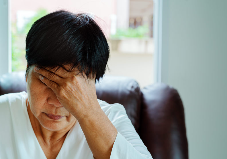 更年期雌激素分泌降低,醫籲勇敢接受荷爾蒙治療避免身心困擾