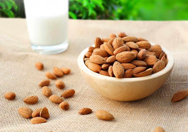 杏仁含防癌營養素,提升免疫力還能促進腸胃蠕動
