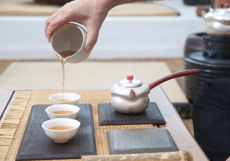 多喝綠茶就能預防失智症;蘇義傑攝。