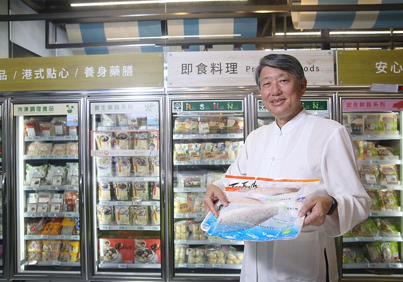 郭智輝從科技人變賣魚郎 助崇越搶攻大健康兆元商機