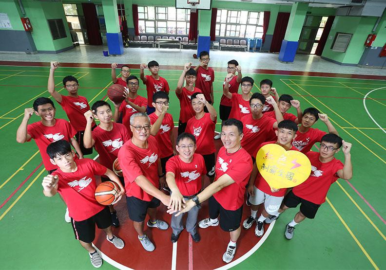 彰中一般生扛起籃球校隊 K書兼打球還能勇奪亞軍