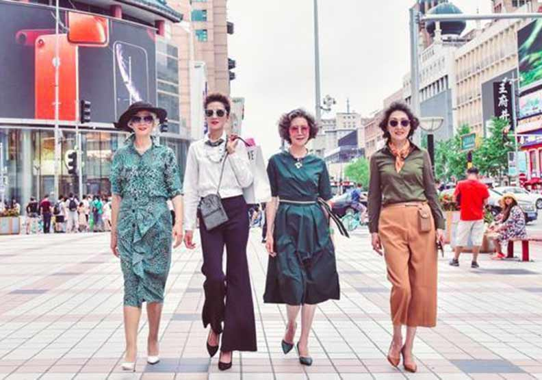 4名平均67歲的旗袍女,為什麼在大陸抖音爆紅?