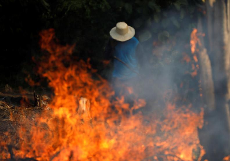 地球之肺遭火龍捲襲擊,野火燒出巴西的生存危機