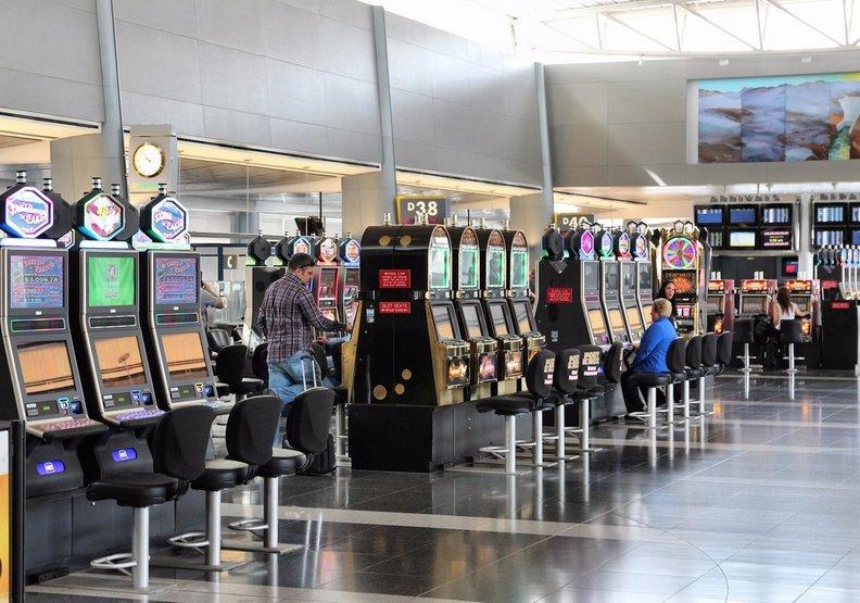 拉斯維加斯的麥卡倫機場。
