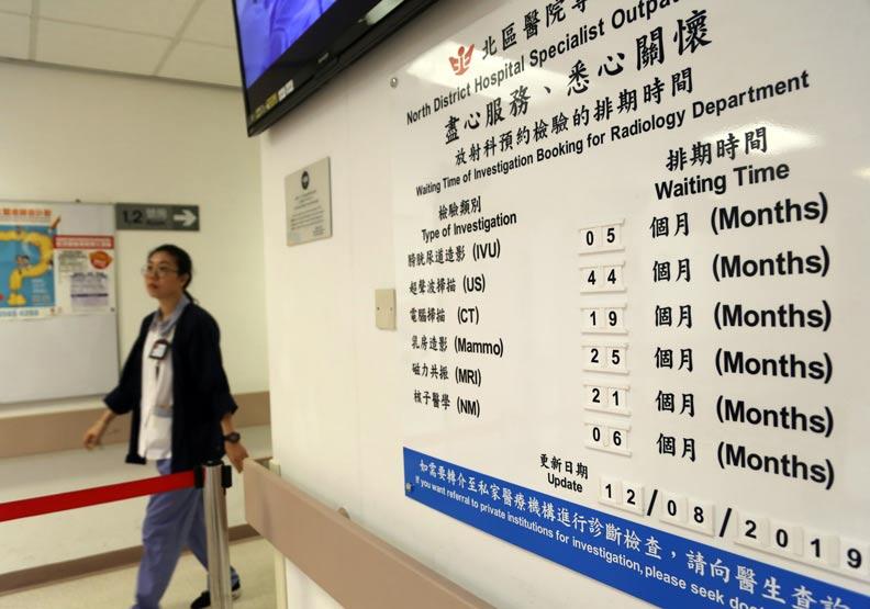 香港人掛骨科要等3.75年;剖腹產要花台幣48萬