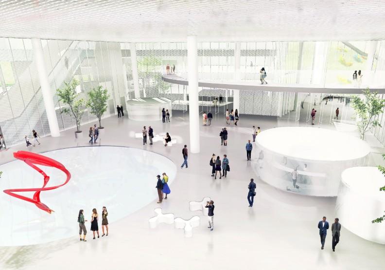 世界第一座美術館、圖書館共存建築!台中綠美圖動工