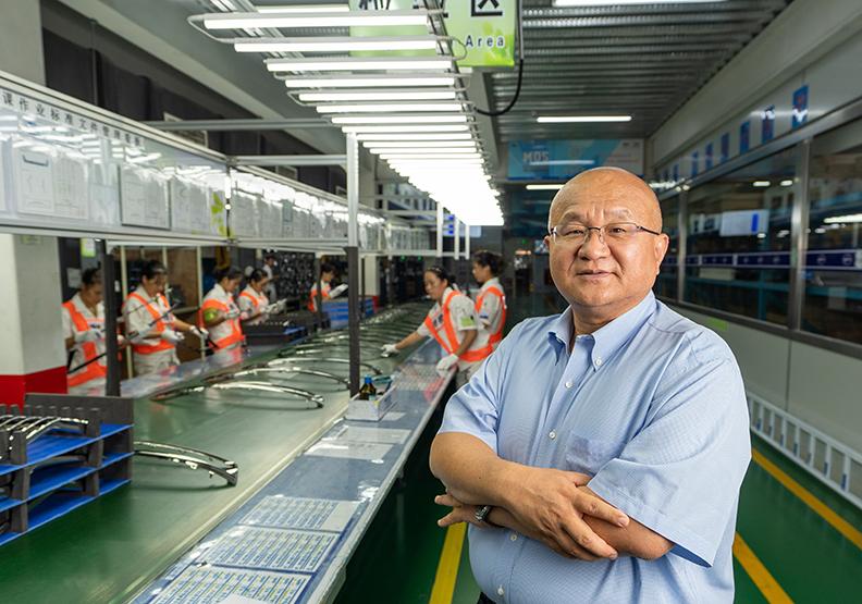 秦榮華靠四招西進翻身 27年拚成全球汽車零件霸主