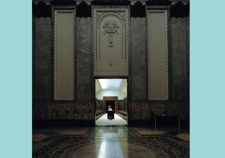 聖德紀念繪畫館,為日本開啟了圓頂空間