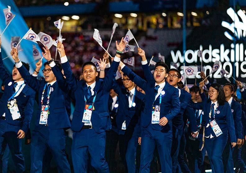 技職奧運 台灣5金5銀5銅 技壓日德強隊站上世界第四