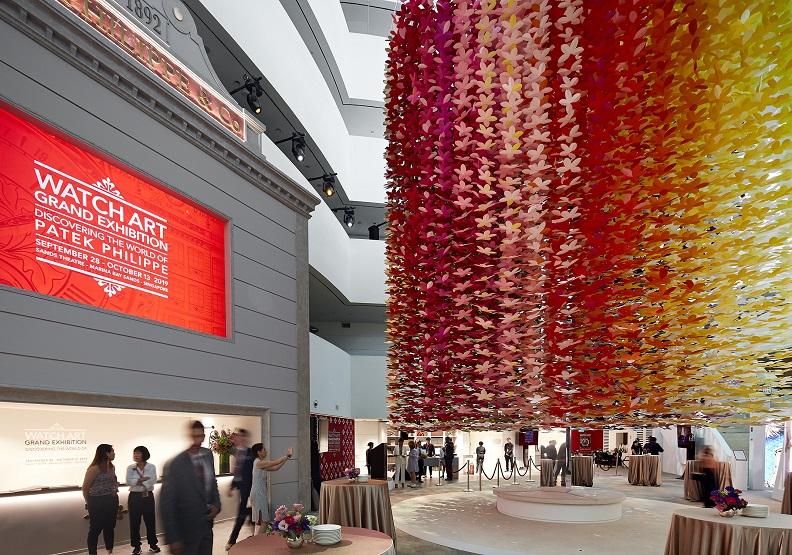 走入鐘錶藝術的長流  百達翡麗打造沉浸式藝術展