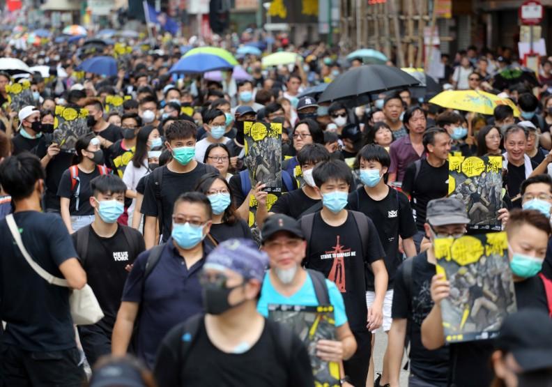 台灣集遊法也禁戴面具?徐國勇曾對「反年改」說:參與者不可以戴
