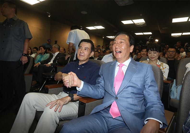 黃健庭要選下屆台北市長?一場演講意外促成馬郭會