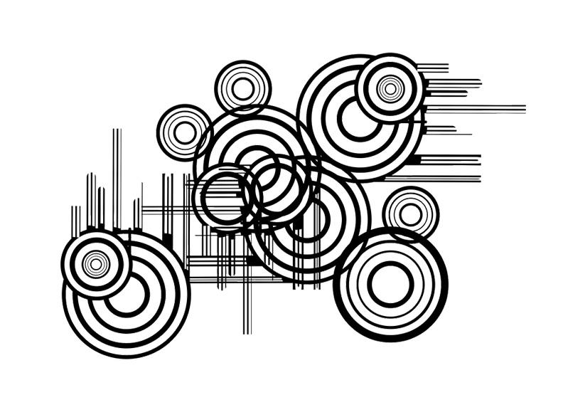 無法控制,直覺盯著那顆圓點!平面設計「點與線」的魔力