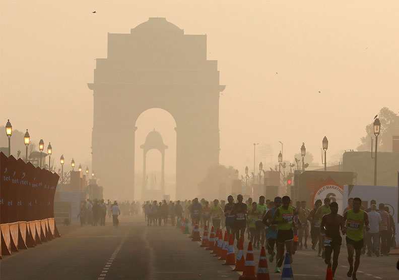 印度都會區宛如毒氣室?每人每天相當吸進40根香菸