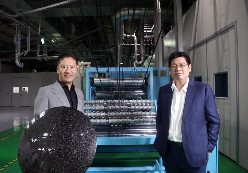 永虹傳授碳纖維回收祕技 讓年產量400倍對手也服氣
