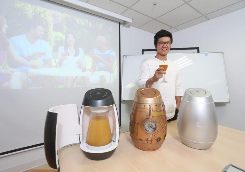 29歲台灣青年驚豔全球:靠一台釀酒器將廚房變成私人酒莊