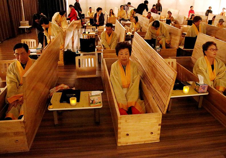 活著進棺材!南韓模擬死亡課程教你反思人生