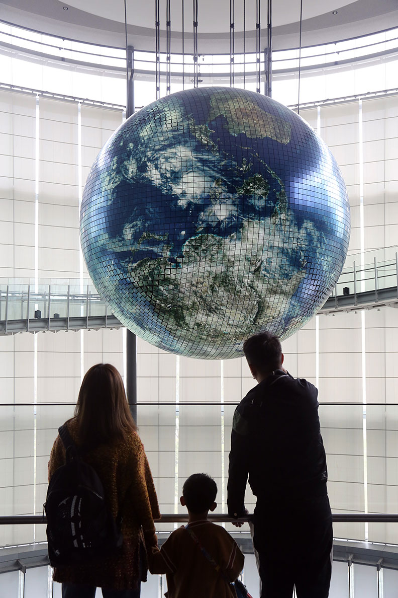疫情嚴峻更加讓我們反思人類與地球之間相互依存的關係,僅為情境配圖。遠見陳之俊攝影