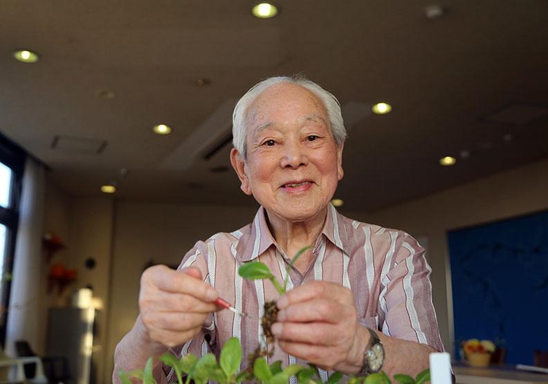 「生涯現役」 讓99歲老爺爺活躍職場
