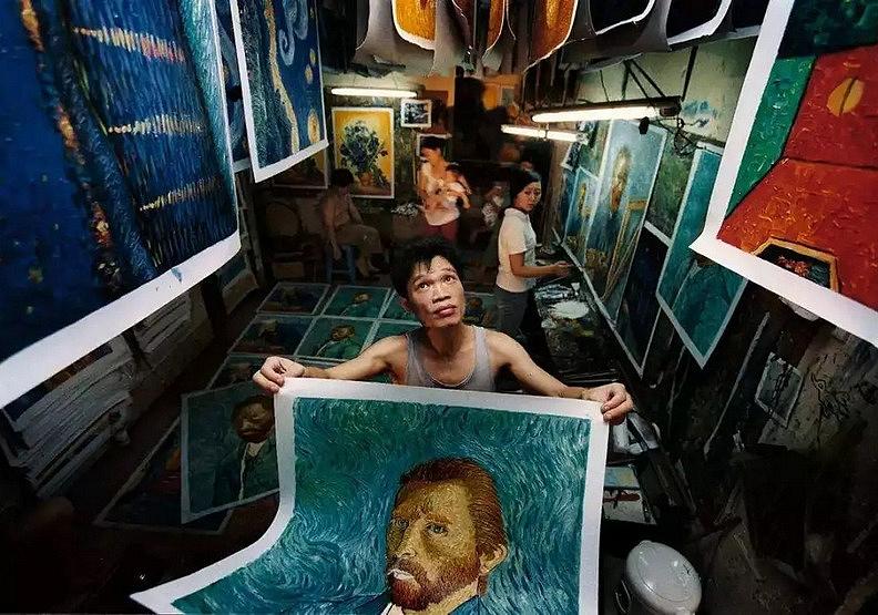 全世界的牆上都有他們的畫!大芬油畫村的傳奇故事