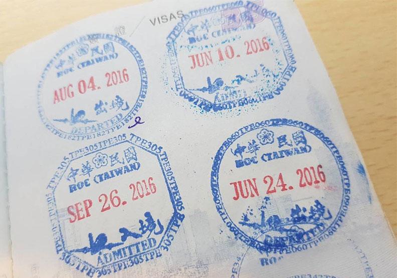 護照2個戳章的小祕密!原來「八卦」入境章可避邪