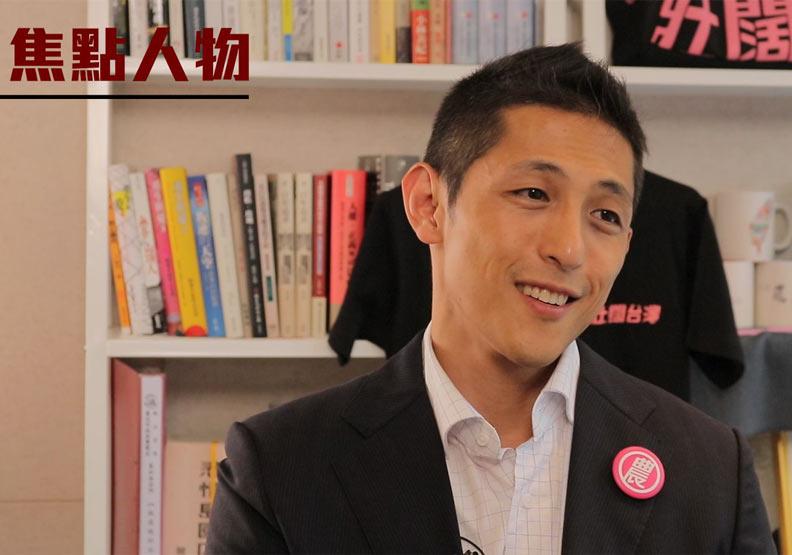 讓國民黨立委蔣萬安備感壓力的對手:民進黨候選人吳怡農