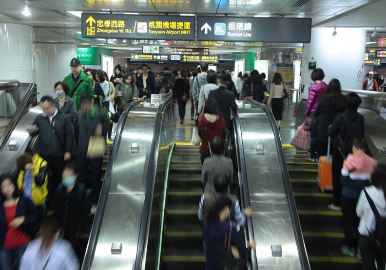 為什麼手扶梯要靠右站?研究發現靠左站也沒比較快