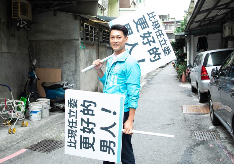 我不是乖乖牌立委!「PTT神龍Z9」吳達偉代表民眾黨挑戰板橋選區