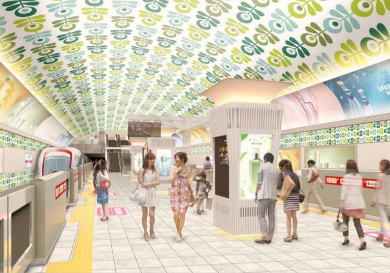 大阪地鐵15個車站翻新!全新視覺,洗刷原先災難般的設計