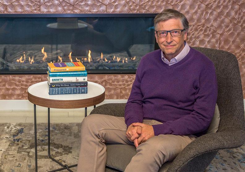 2019年比爾蓋茲最愛的五本書,你讀了幾本?