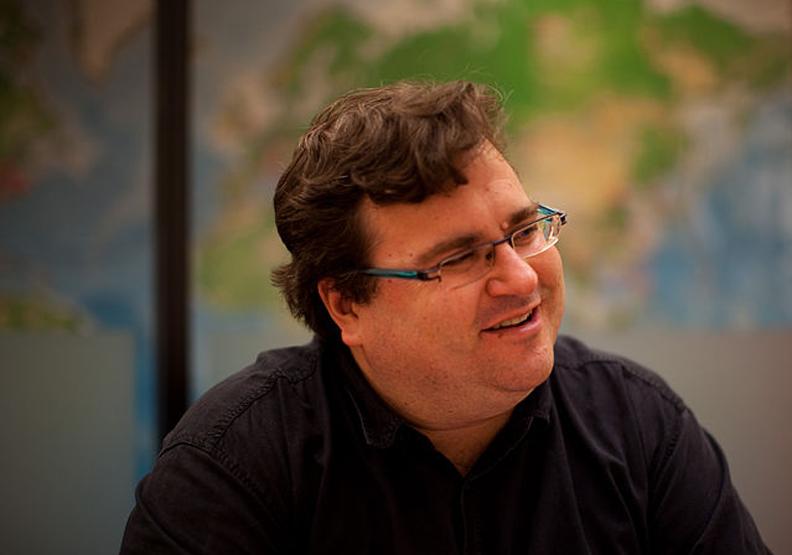 圖/LinkedIn的聯合創始人之一里德.霍夫曼(Reid Hoffman)。取自維基百科