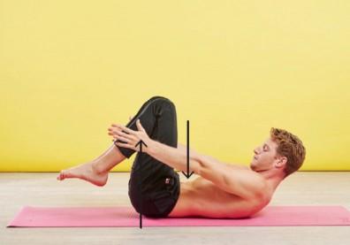每日10分鐘,5個簡單動作鍛鍊核心、保持身體彈性
