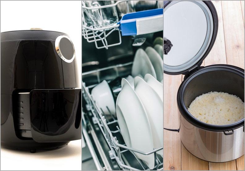 沒注意小心加速長霉!譚敦慈傳授廚房三寶使用須知:氣炸鍋、烘碗機、電子鍋