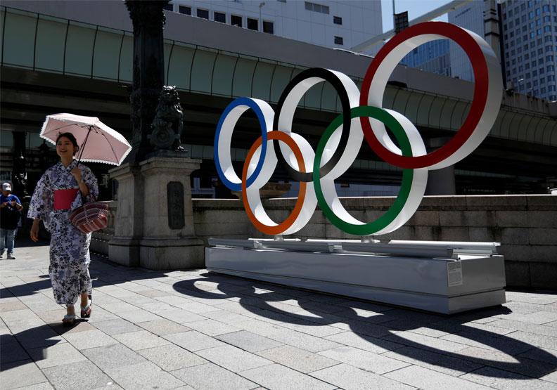 2020東京奧運因新冠疫情延期至2021年。圖片來自達志影像