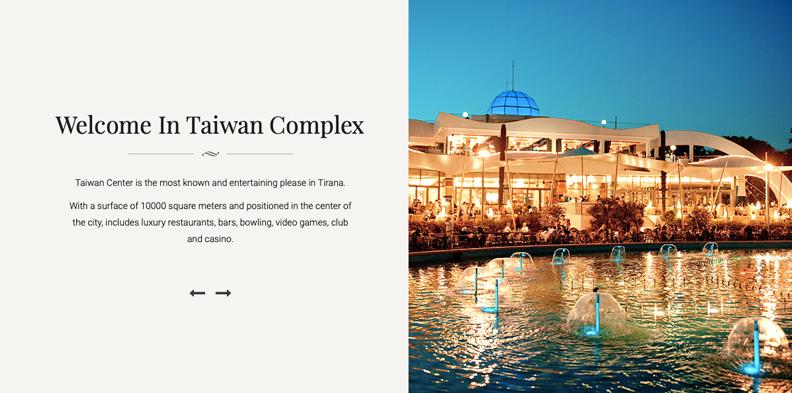 台灣廣場的英文版網頁,除了名字以外,跟台灣完全無關。Source:Kompleksi Taiwan
