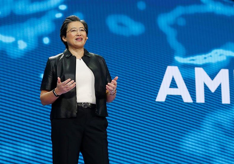 台裔AMD總裁蘇姿豐,入選《彭博》50風雲人物