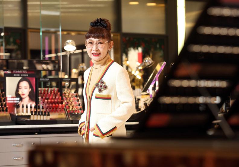 徐雪芳追時尚、愛逛街 掌舵13年帶領遠百轉型
