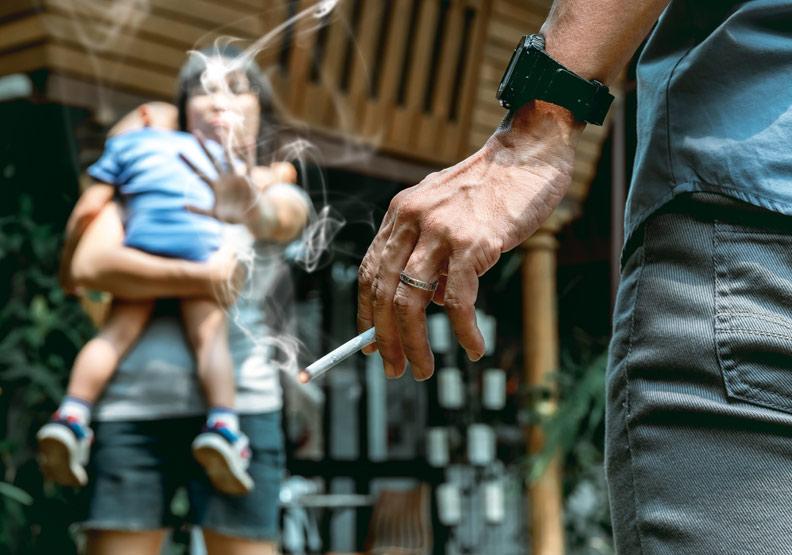 嬰幼兒受菸害,美研究:易出現過動症和行為問題