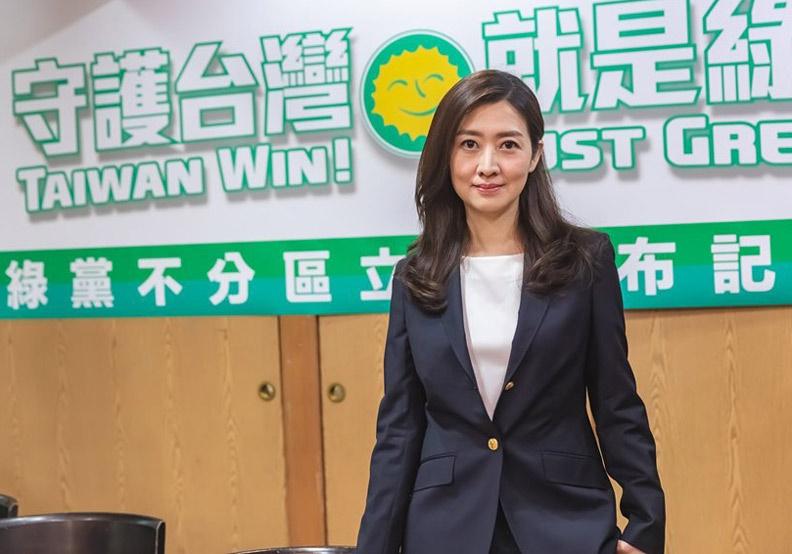 投入綠黨不分區立委名單的名醫師鄧惠文,最後仍無法進入國會殿堂一展身手。(照片取自鄧惠文臉書)