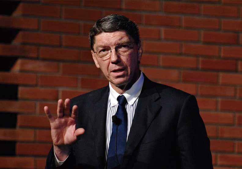 「破壞式創新」管理大師克里斯汀生辭世,享壽67歲