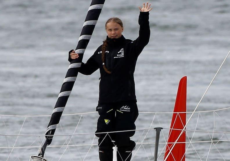 瑞典女孩桑柏格挺減碳,帶起拒搭飛機熱潮