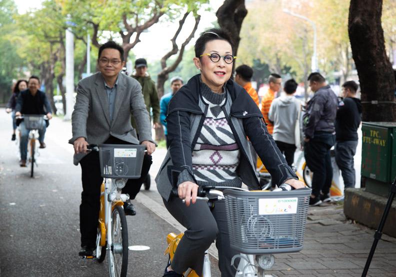 Youbike發言人劉麗珠是推動Youbike成功普及化的重要人物。