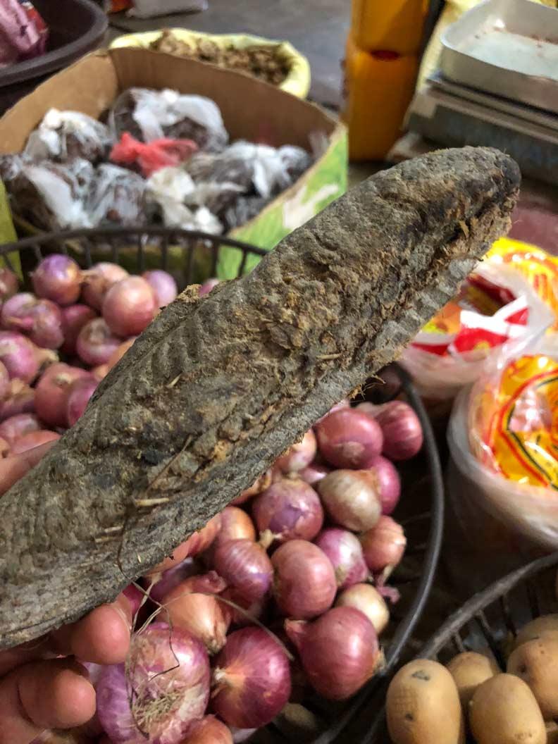 鰹節是斯里蘭卡咖哩美味的基底。野島剛提供