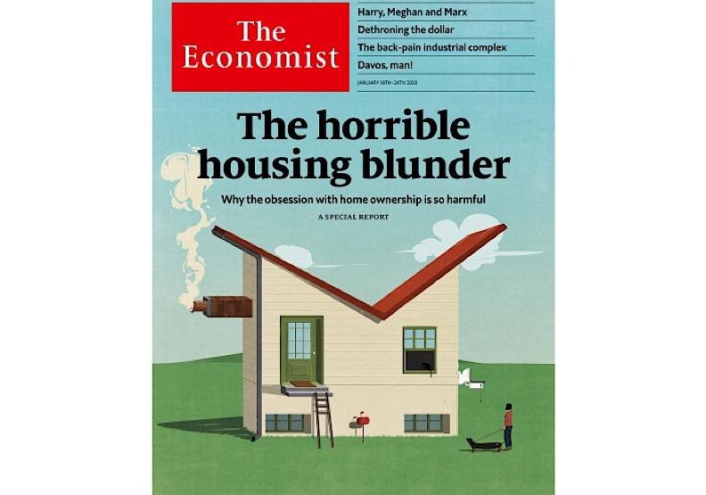 2020.1.18出版的《經濟學人》。取自《經濟學人》官網