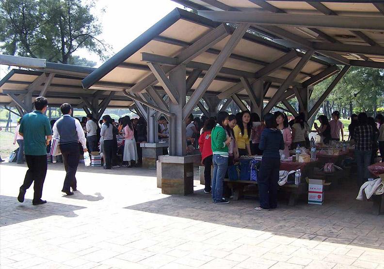 金山青年活動中心常租借給學校舉辦活動。圖片取自金山青年活動中心粉專