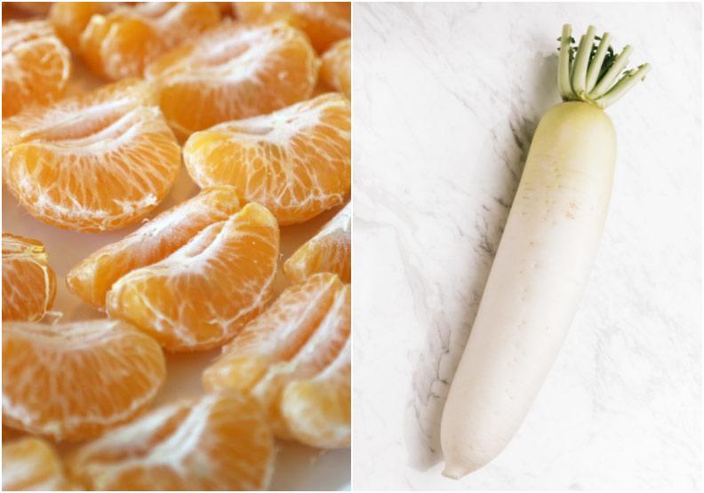 橘子別跟白蘿蔔一起吃!還有哪些食物不能與水果一同下肚?