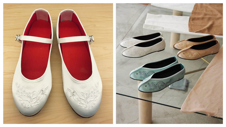 小花園近來多元發展,除了推出復刻鞋款外,也會和其他品牌合作。圖片來源:小花園、Fujin Tree 355 Instagram