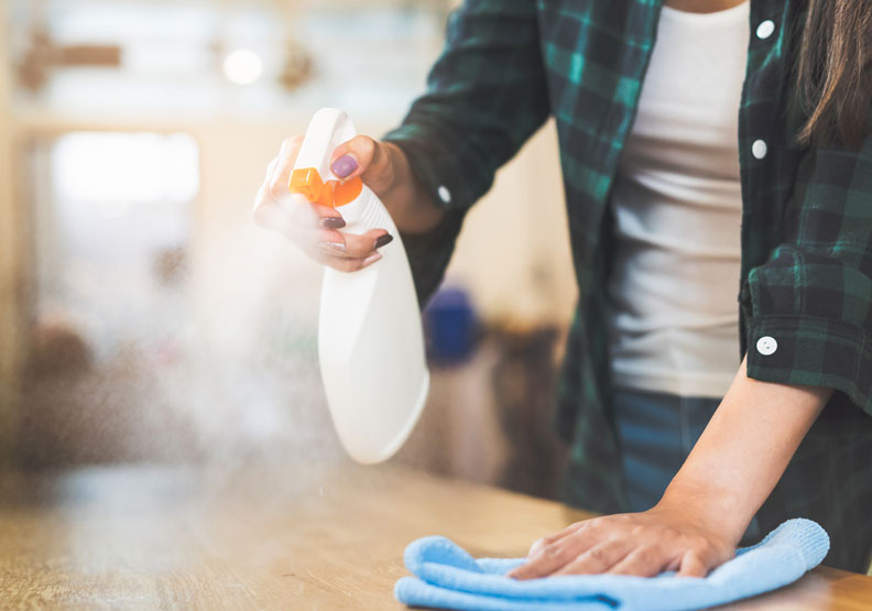 回家先洗手!預防流感、武漢肺炎,居家消毒防疫 4 要訣