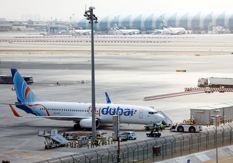 航空是杜拜的經濟命脈之一。
